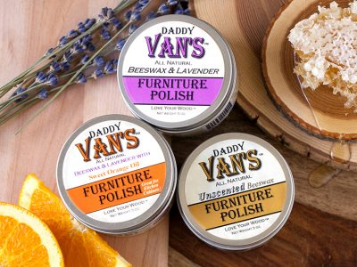 Daddy Van's All Natural Beeswax Furniture Polish