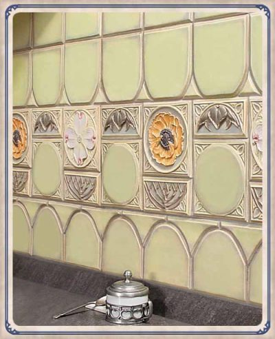 Tudor Tile by Lewellen Studio