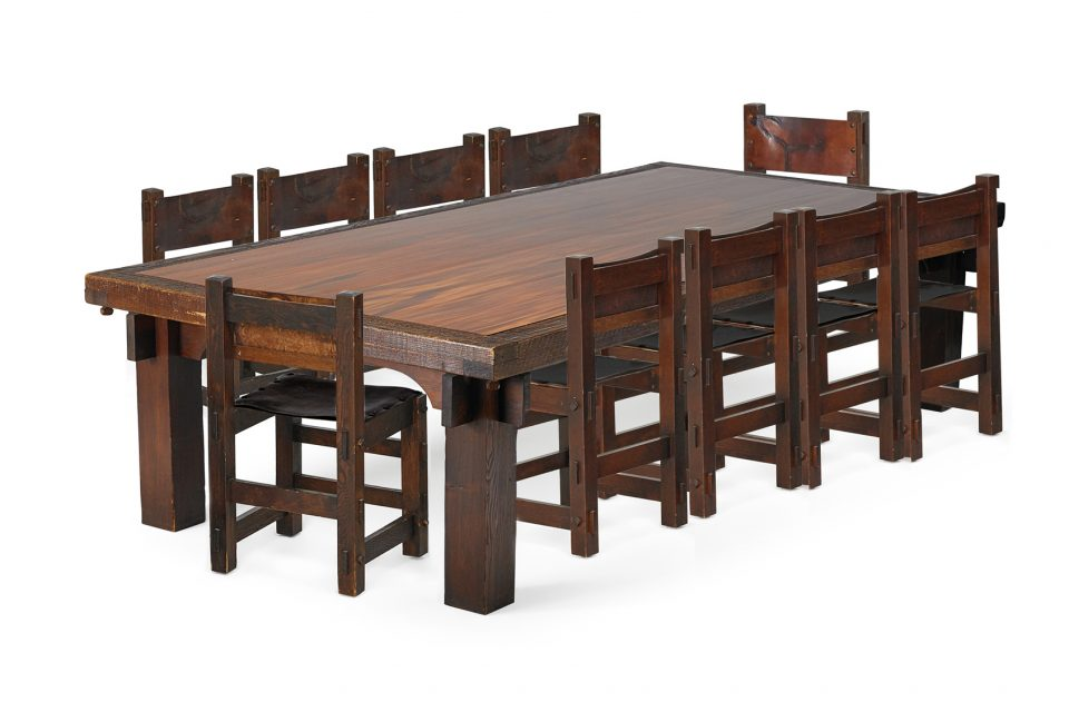 Unique Dining Room Set Highlights Rago Auction