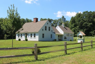 Early New England Homes by Country Carpenters